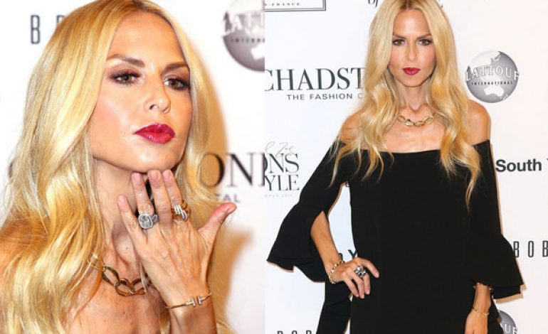 Fashion Stylist Rachel Zoe Launches 'Icons of Style' Campaign in Melbourne (Photos)