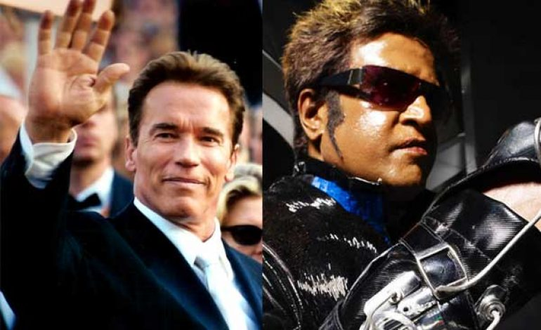 Arnold to Star with Rajinikanth in 'Robot' Sequel