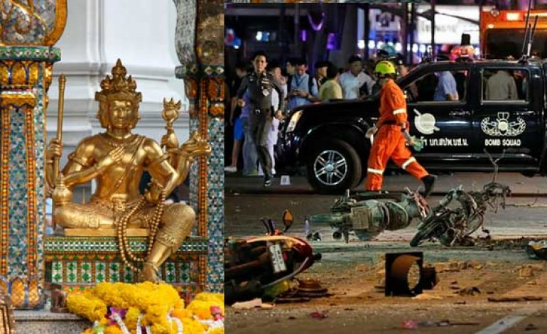 Bangkok Explosion at Hindu Shrine, Kills 16, Wounds Over 80