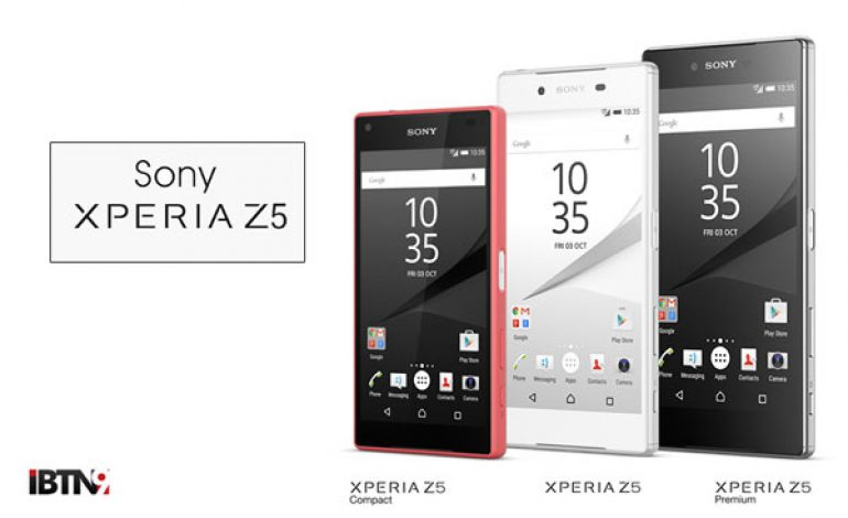Sony Unveils Z5 Handsets
