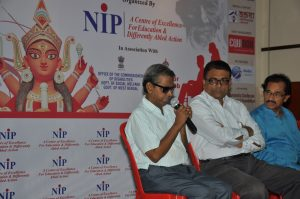 "Panel Discussion on ""Is This Durga Puja Differently Able & Senior Citizen Friendly"" organized by NIP NGO held at Nehru Children's Museum, Kolkata_6"