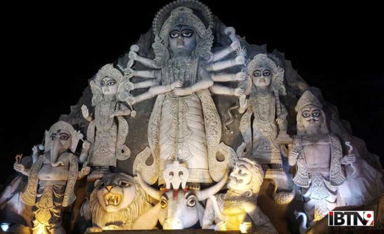 World's Biggest Durga Idol – Shut Down!