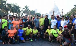 Over 120 runners take to streets for the first training run