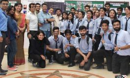 Stars of MESSI visit Media Dept. of Pailan College