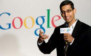 Sundar Pichai - new Google CEO.