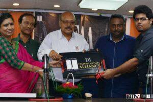 From left- Ranjana Bhanja (Creative Director, Jackson Records); Soumitra Bandyopadhyay (radio actor); Dr. Dipak Chandra Poddar (ex-director of drama, All India Radio); Arindam Basu (Director, CarpeDiem); Utsav Bhanja (Managing Partner, Jackson Records Digital Entertainment).