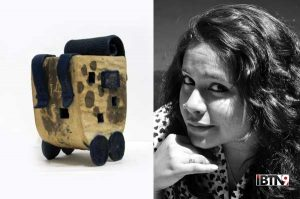 Srinia Chowdhury (Sculptor from India)
